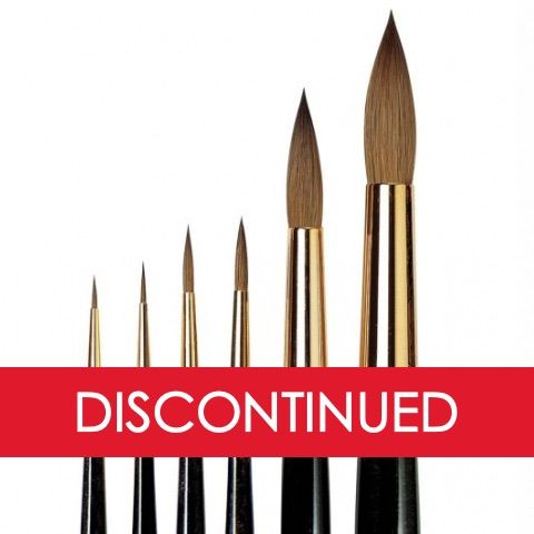 DaVinci Kolinsky Red Sable 1526Y Series Brushes