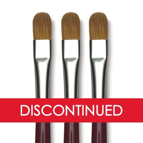 DaVinci Kolinsky Red Sable Oil Brushes 1815 Series