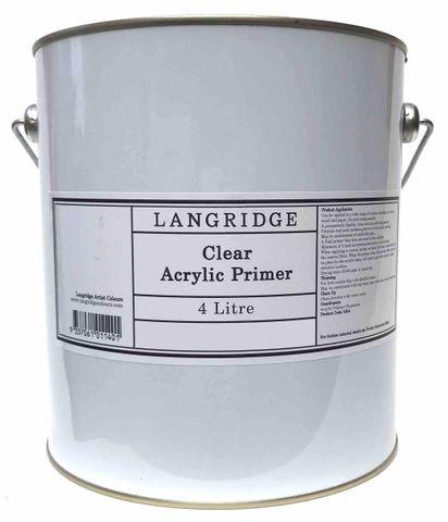 Langridge Clear Acrylic Primer