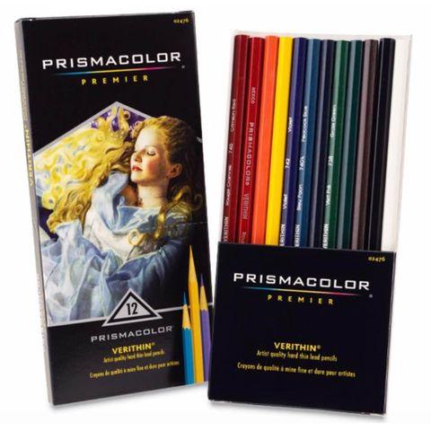 Prismacolor Verithin Boxed Set 12