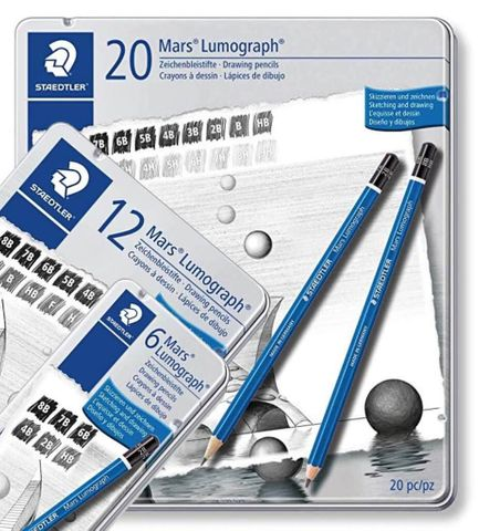 Staedtler Lumograph Pencil Sets