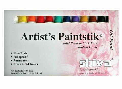 Shiva Artists Paintstik Set 12