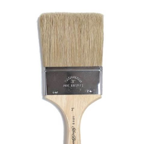 Silver Brush 1414S Cutter White Bristle Varnish Brush
