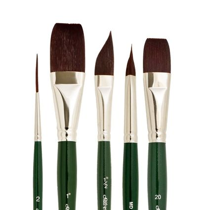 Silver Brush 2500S Ruby Satin