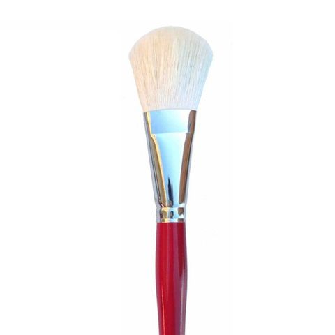 Silver Brush 5519S White Oval Mop