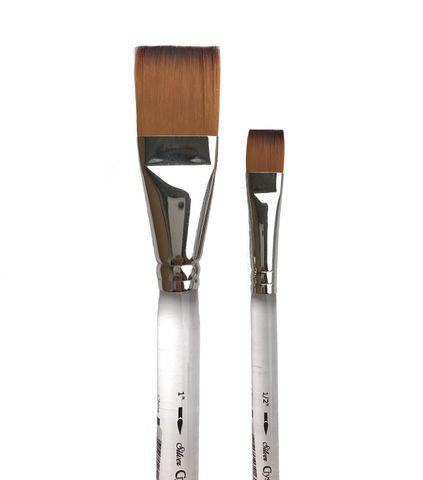 Silver Brush 6808S Crystal Square Wash Acrylic Brushes