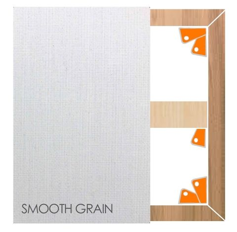 2413 Italian Primed Linen Stretched Canvases