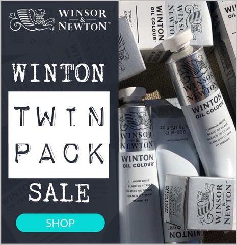 2x Pack Winton Titanium White 200ml