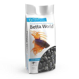 Betta World-Polished Black 350