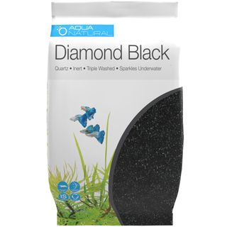 Diamond Black Aquarium Gravel