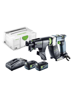 FESTOOL DWC 18-2500 CORDLESS SCREW DRIVER KIT (INCLUDES 2 BATTERIES & 1 CHARGER)