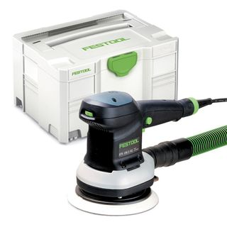 FESTOOL ETS 150/3 EQ-PLUS RANDOM ORBITAL SANDER IN SYSTAINER