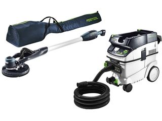 FESTOOL LHS 225 PLANEX EASY SET WITH CT36 AUTO CLEAN EXTRACT