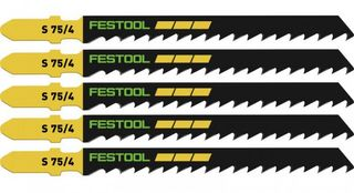 FESTOOL JIG SAW BLADE FOR WOOD S 75/4/25 25 PACK