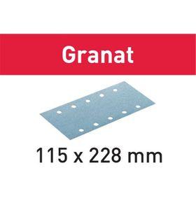 FESTOOL STF 115X228 P220 GRANAT SANDPAPER (100 INCLUDED)
