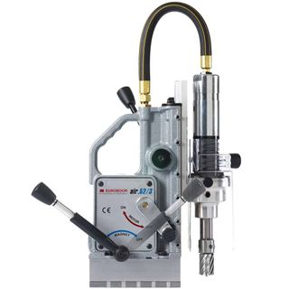 Euroboor Pneumatic Magnetic Drilling Machine 52 mm