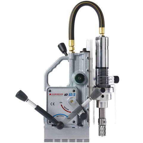 Euroboor Pneumatic Magnetic Drilling Machine 52 mm