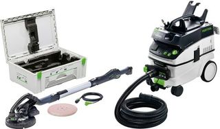 FESTOOL PLANEX LHS 225 EQ-PLUS SANDER SET INCLUDING CT36 E AC