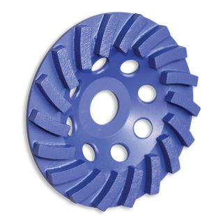 TUSK 125 MM SEGMENTED TURBO CUP GRINDING WHEEL