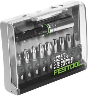 FESTOOL CENTROTEC BIT BOX MIX (INCLUDES MAGNETIC BIT HOLDER)