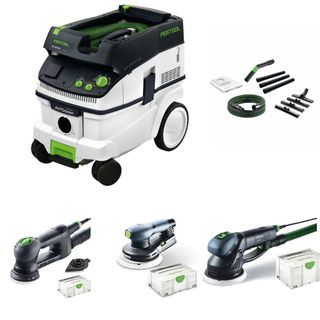 FESTOOL SANDING KIT WITH DUST EXTRACTION