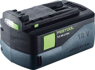 FESTOOL BATTERY BPC 18V 5.2 AH AIRSTREAM