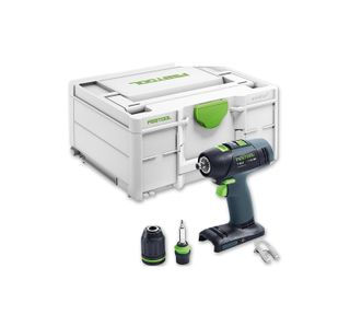 FESTOOL T 18+3 LI-BASIC DRILL SKIN ONLY