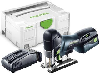FESTOOL PSC 420 CORDLESS BARREL TYPE JIGSAW KIT (INCLUDES 2 BATTERIES & 1 CHARGE