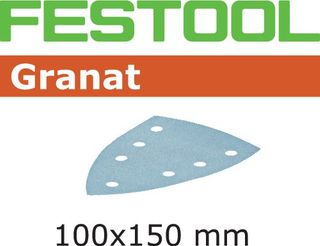 FESTOOL STF DELTA/7 P80 GRANAT SANDPAPER (50 INCLUDED)