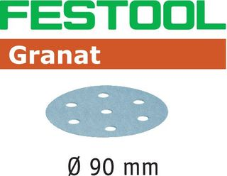 FESTOOL STF D90/6 P80 GRANAT SANDPAPER (50 INCLUDED)