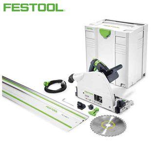 FESTOOL TS 75 EBQ-PLUS PLUNGE SAW +FS 1400