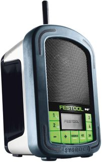 FESTOOL RADIO BR 10 SYSROCK  WITHOUT BATTERY