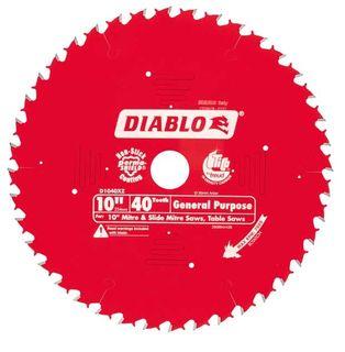 "DIABLO 10""(254mm) x 40 TOOTH MITRE SAW BLADE"