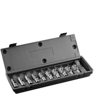 EUROBOOR CUTTER 30MM DEPTH (Set 10) 12,14,16,18,20,22,24,26,28,30mm