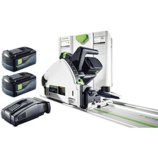 FESTOOL TSC 55 REB CORDLESS PLUNGE SAW KIT WITH FS 1400 GUIDE RAIL