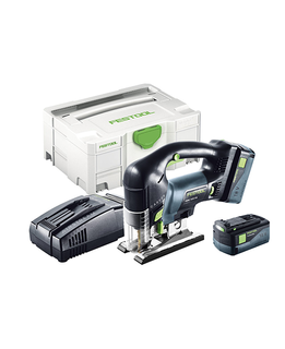 FESTOOL JIGSAW PSBC 420 CORDLESS KIT (INCLUDES 2 BATTERIES & 1 CHARGER)