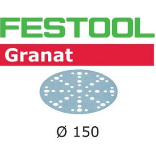 FESTOOL STF D150/16 P500 GRANAT SANDPAPER (100 INCLUDED)