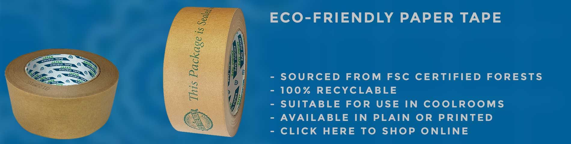 Eco Friendly Packaging - Paper Tape