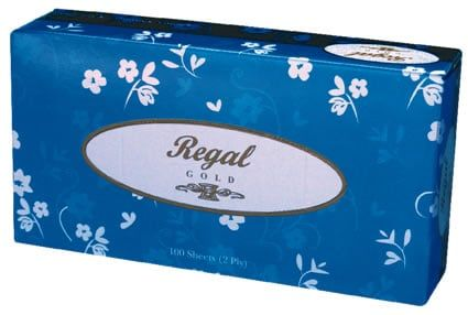 FACIAL TISSUES 2 PLY 48X100'S
