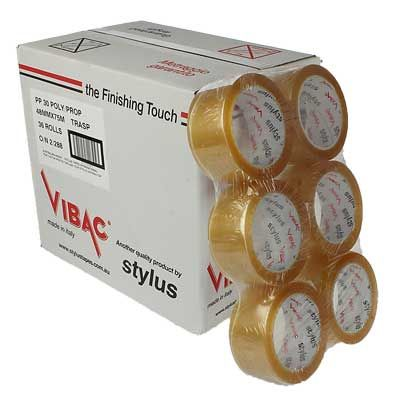 VIBAC RED PACKAGING TAPE