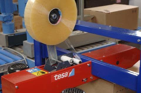 TESA 4263 MACHINE TAPE 48MMX1000M CLEAR
