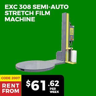 EXC 308 Semi-Auto Stretch Film Machine