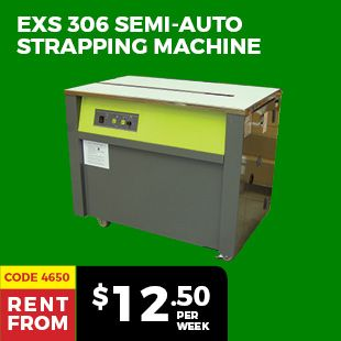 EXS 306 Semi-Auto Strapping Machine