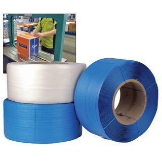 PP Machine Strap Prem. 12mm x 3000m Blue
