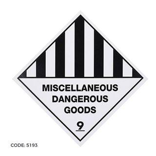 DG Label 300x300 Misc. Dan. Goods 9