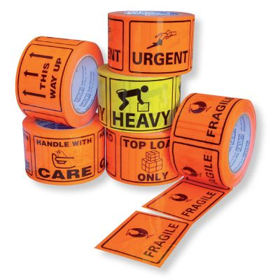 PRINTED TAPE LABELS