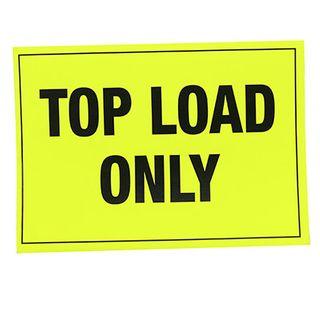 A4 Top Load Only Pallet Labels (pck/100)