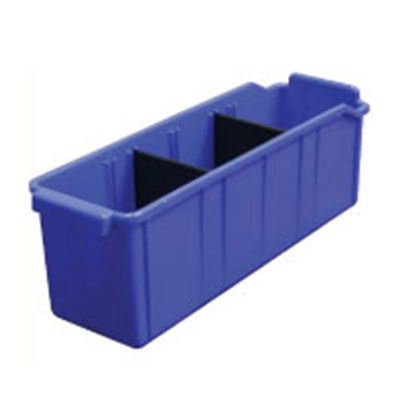 PLASTIC BINS WITH DIVIDERS