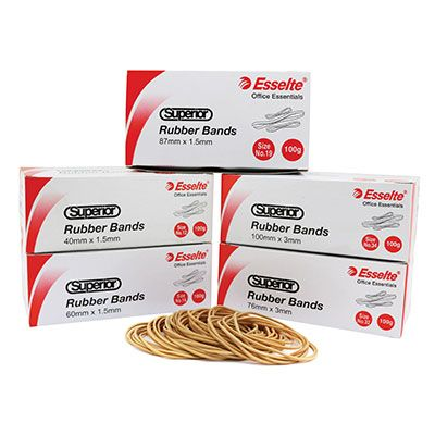 RUBBER BANDS - OFFICE PACKS