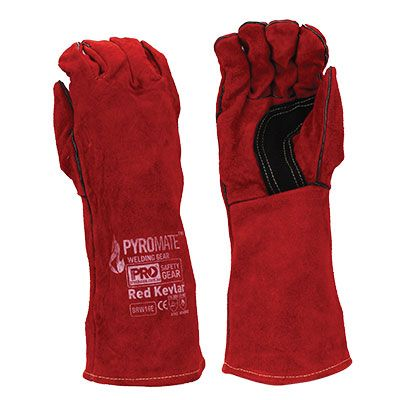 RED KEVLAR WELDERS